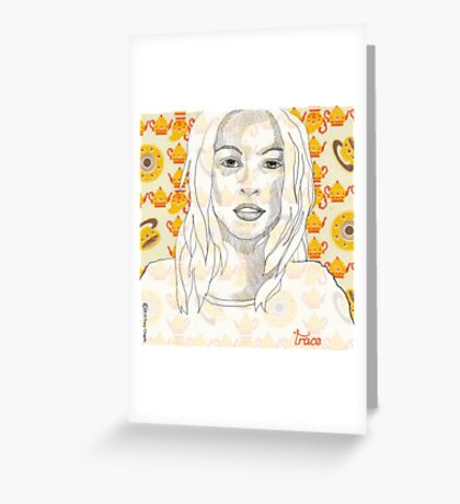 Pretty As A Pencil Greeting Card