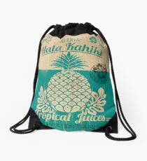 S/S 2015 - Pineapples - Hala Kahiki Juice Stand Drawstring Bag