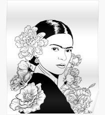Frida Blumen Poster
