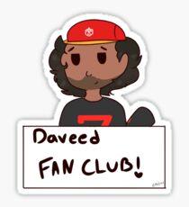 Pegatina ¡Pegatina del club de fans de Daveed Diggs!
