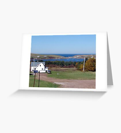 Bay St. Lawrence Greeting Card