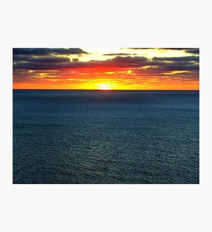 The Darkening Sea Photographic Print