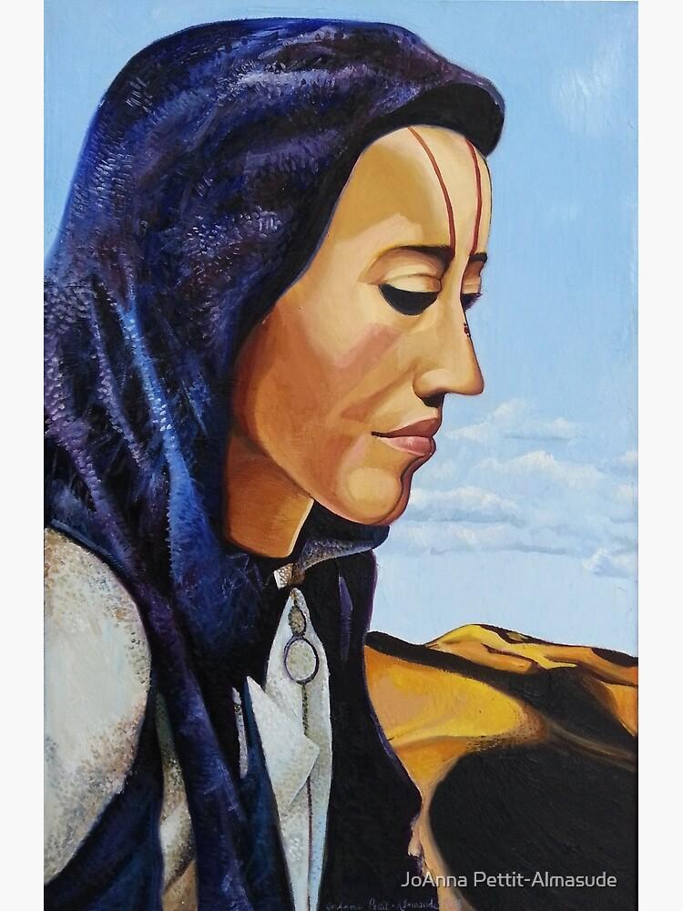 Desert Woman by joannaalmasude