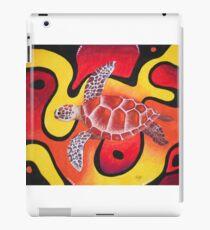 Red Turtle Teddie iPad Case/Skin