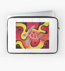 Red Turtle Teddie Laptop Sleeve