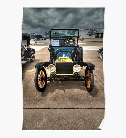Model T at Warbird Show Poster
