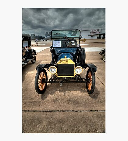 Model T at Warbird Show Photographic Print
