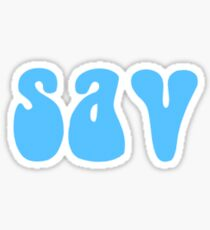 sav! (Blau) Sticker