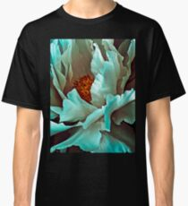 White Peony Petals Classic T-Shirt