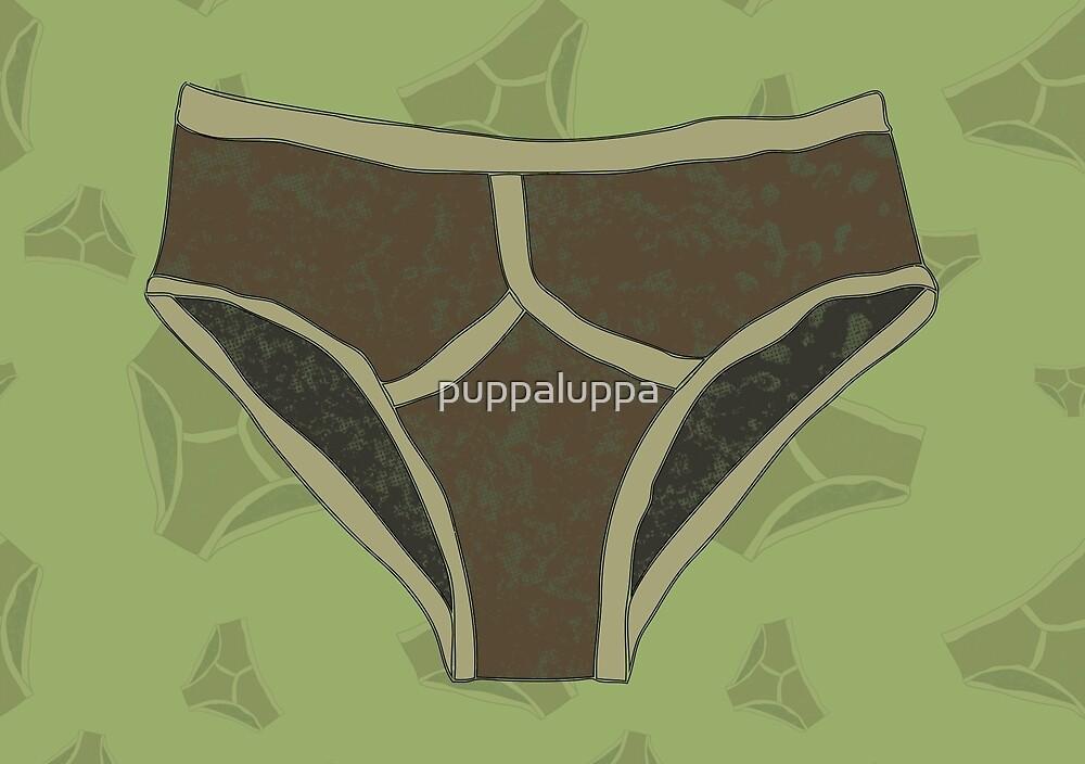 Camouflage pants by puppaluppa