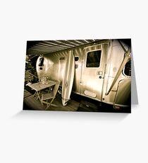 Airstream Caravan - Byron Bay Greeting Card