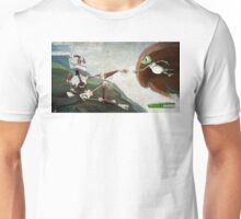 La création de Zaphod - The creation of Zaphod Unisex T-Shirt