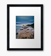 Resting Pelicans, Boat Harbour, Gerringong, NSW - Australia Framed Print
