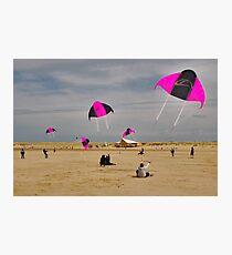 Beach activities  Photographic Print