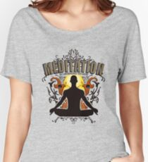 Meditation is LISTENING to GOD Women's Relaxed Fit T-Shirt