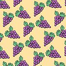 grapes. by hannahison