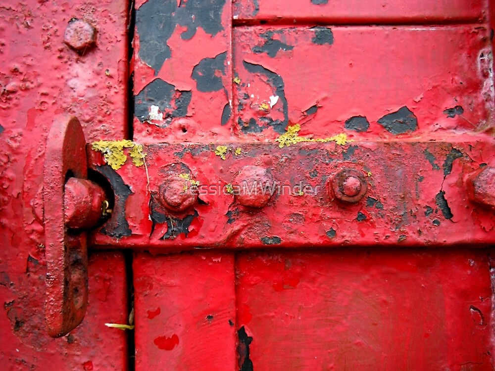 Red Paint 3 by JessicaMWinder