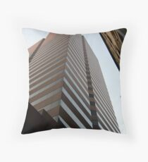 Cinci Bank Building Throw Pillow