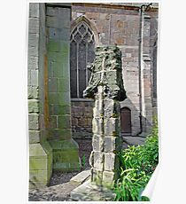 Ancient Church Tower Pinnacle, Derby Poster