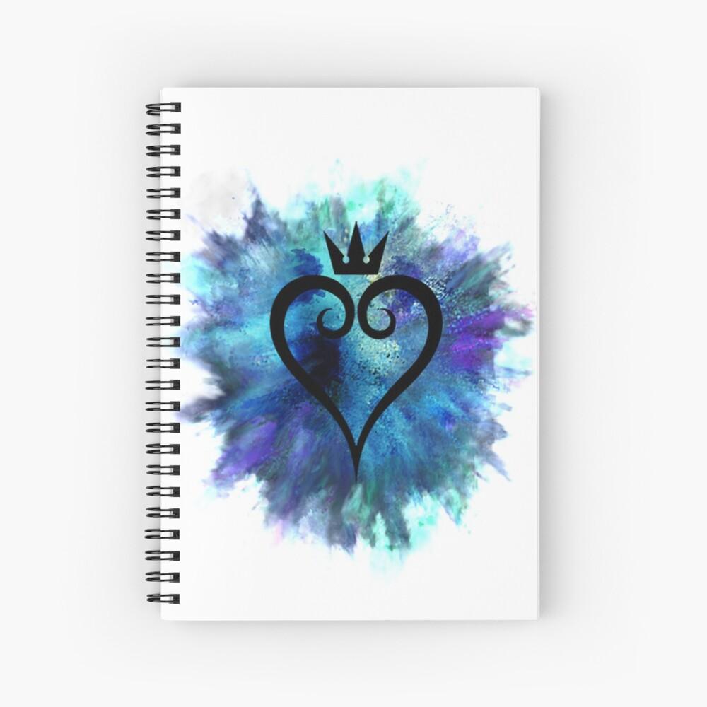 Königreich Herzen Spiralblock
