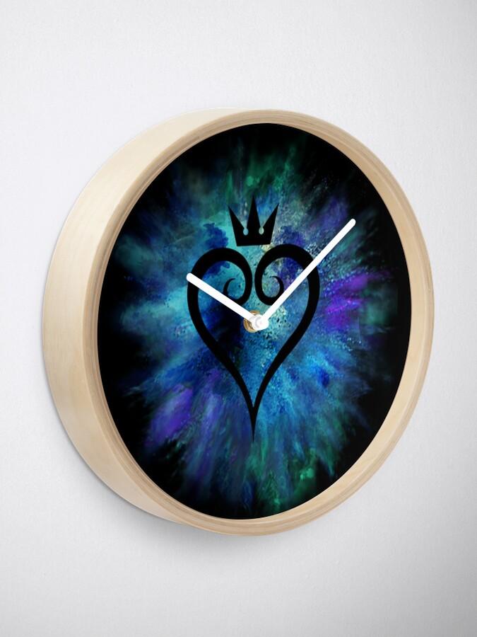 Alternative Ansicht von Königreich Herzen Uhr