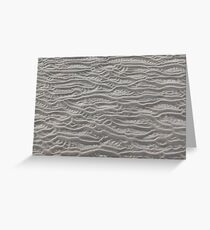 Inch Sand Ripples 1 Greeting Card