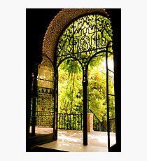 Moorish Garden Photographic Print
