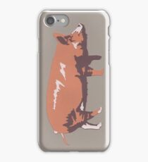 Tamworth Pig iPhone Case/Skin
