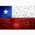 «Bandera de Chile - Gotas de lluvia» de Dr-Pen