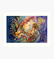The Melancholy for Chagall  Art Print