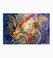 Die Melancholie für Chagall Fotodruck