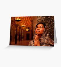 Treasure of Faith, Hope & Love Greeting Card