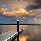 Blind Bight Jetty by Jim Worrall