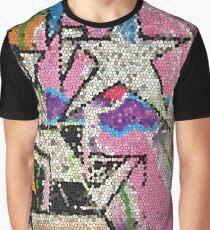 GRAFFITI MOSAIK MIT STERN STREETART Grafik T-Shirt