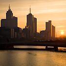 Melbourne in the Morning by Andrew Wilson