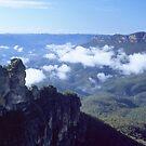 The Three Sisters Katoomba by Brett Thompson