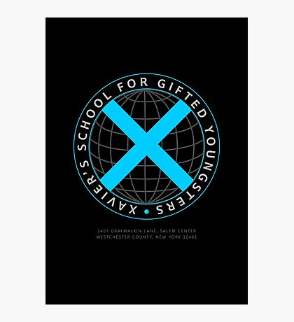 Xavier's School for Gifted Youngsters Photographic Print