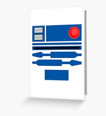 R2D2 Greeting Card