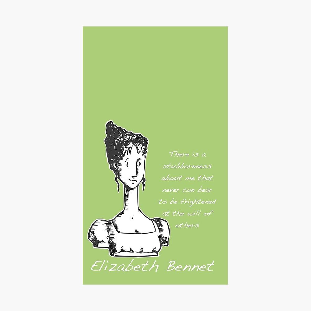 Jane Austen Elizabeth Bennet  Photographic Print