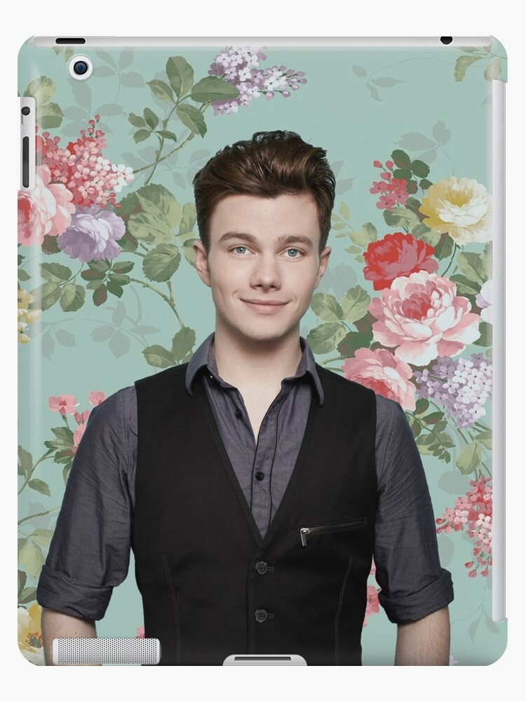 Chris Colfer Flowers iphone case