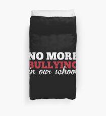 Funda nórdica No más intimidación en nuestra escuela Anti-Bully