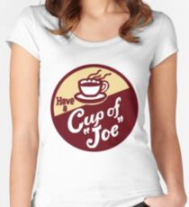 Cup of Joe Women's Fitted Scoop T-Shirt