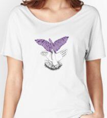 Flipping the Bird Women's Relaxed Fit T-Shirt
