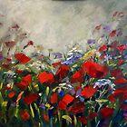Summer field by Ivana Pinaffo