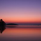 Dawn on Lake DeGray by Maurie Alderson