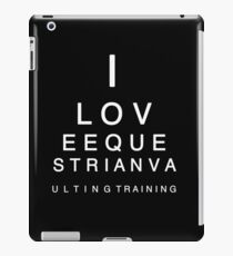 Eye Chart iPad Case/Skin