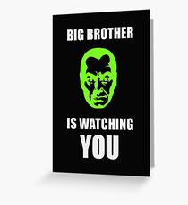 NSA - Big Brother is Watching You Greeting Card