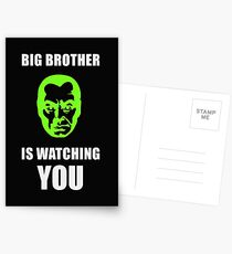 NSA - Big Brother is Watching You Postcards