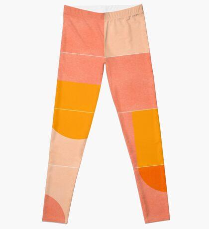 Retro Tiles 03 #redbubble #pattern Leggings