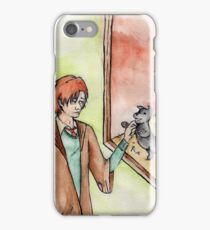 Remus Meets a Puppy iPhone Case/Skin